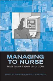 Cover of: Managing to Nurse | Janet M. Rankin