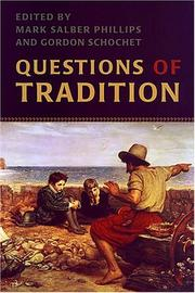 Cover of: Questions of tradition