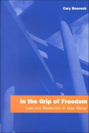 Cover of: In the Grip of Freedom | Cary Boucock