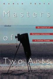 Cover of: Masters of two arts | Carlo Testa
