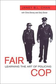 Fair Cop by Janet B.L. Chan, Christopher Devery, Sally Doran
