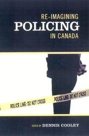 Cover of: Re-imagining policing in Canada |