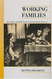Cover of: Working families
