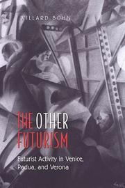 Cover of: The other futurism