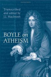 Boyle on Atheism (Toronto Studies in Philosophy)