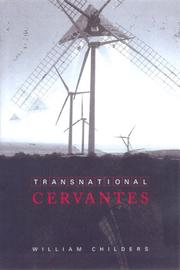 Cover of: Transnational Cervantes (University of Toronto Romance Series) | William Childers