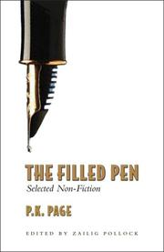 Cover of: The Filled Pen | P. K. Page