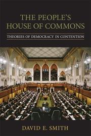 Cover of: The Peoples House of Commons | David E. Smith (undifferentiated)
