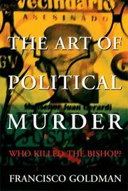 Cover of: The Art of Political Murder