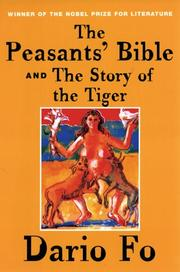 Cover of: The Peasants' Bible and the Story of the Tiger