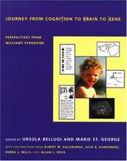 Cover of: Journey from Cognition to Brain to Gene | Marie I. St. George