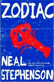 Cover of: Zodiac: the eco-thriller