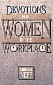 Cover of: Devotions for women in the workplace