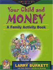Cover of: Your child and money
