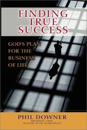 Cover of: Finding true success