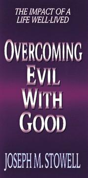 Cover of: Overcoming evil with good
