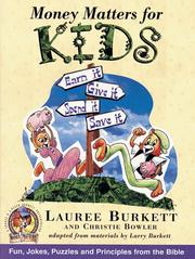 Cover of: Money matters for kids | Lauree Burkett