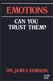 Cover of: Emotions, can you trust them?