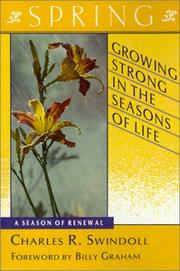 Cover of: Growing strong in the seasons of life. | Charles R. Swindoll