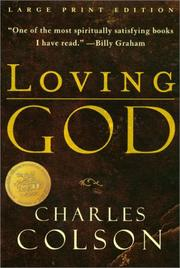 Cover of: Loving God | Charles W. Colson