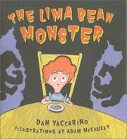 Cover of: The lima bean monster