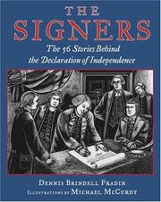 Cover of: The signers: the fifty-six stories behind the Declaration of Independence