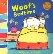 Cover of: Woof's Bedtime | Caroline Jayne Church