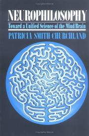 Cover of: Neurophilosophy | Patricia Smith Churchland