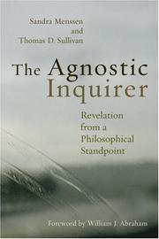 Cover of: The Agnostic Inquirer | Sandra Menssen
