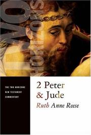 Cover of: 2 Peter and Jude (Two Horizons New Testament Commentary) | Ruth-ann Resse