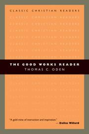 Cover of: The Good Works Reader