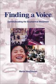Cover of: Finding a voice