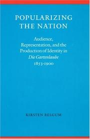 Cover of: Popularizing the nation