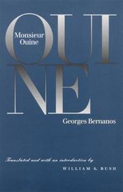 Cover of: Monsieur Ouine