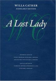 Cover of: A lost lady
