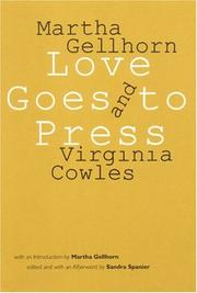 Cover of: Love goes to press