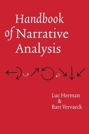 Cover of: Handbook of narrative analysis