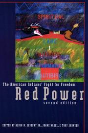 Cover of: Red power