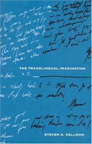 Cover of: The translingual imagination