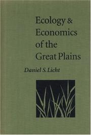 Cover of: Ecology and economics of the Great Plains