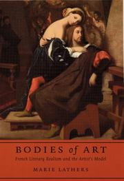 Cover of: Bodies of art