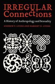 Cover of: Irregular Connections | Andrew P. Lyons