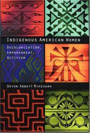 Cover of: Indigenous American women