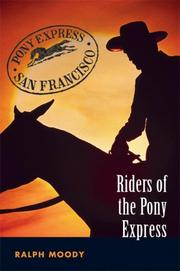 Cover of: Riders of the Pony express