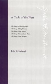 Cover of: A Cycle of the West | John G. Neihardt