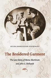 Cover of: The broidered garment