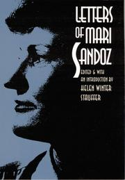 Cover of: Letters of Mari Sandoz