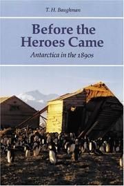 Cover of: Before the Heroes Came