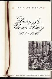 Cover of: Diary of a Union lady, 1861-1865