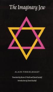 Cover of: The Imaginary Jew (Texts and Contexts)